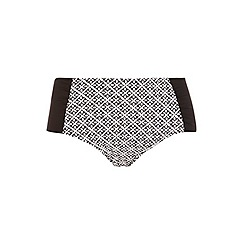 Evans - Geo tile print bikini bottom