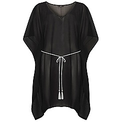 Evans - Black essential kaftan