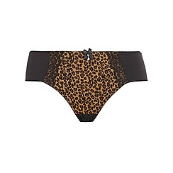 Evans - Animal print kitty brief