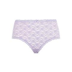 Evans - Lilac lace short