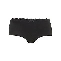 Evans - Black knickers