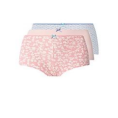 Evans - 3 pack pastel print shorts