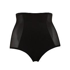 Evans - Black waist cincher