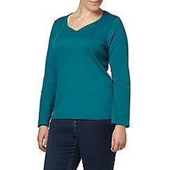 Evans - Green long sleeve t-shirt