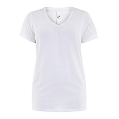 Evans - White short sleeve tee