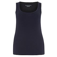 Evans - Navy basic vest