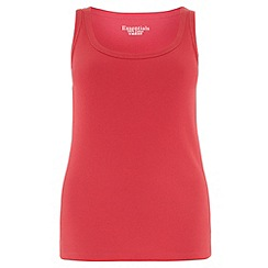 Evans - Pink basic vest
