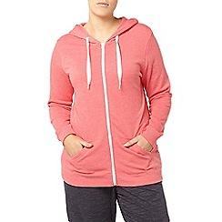 Evans - Pink basic hoodie