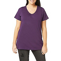 Evans - Purple short sleeves t-shirt
