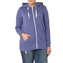 Evans - Blue basic hoodie