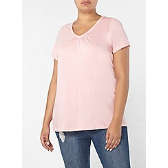 Evans - Pink short sleeve t-shirt