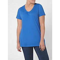 Evans - 2 pack blue and orange t-shirts