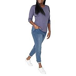 Evans - Blue long sleeves t-shirt