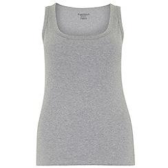 Evans - Grey basic vest