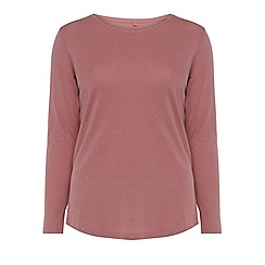 Evans - Pink long sleeves t-shirt