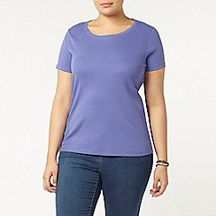 Evans - Purple short sleeve t-shirt
