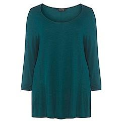 Evans - Green 3/4 sleeves t-shirt
