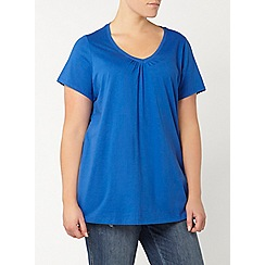 Evans - Cobalt blue short sleeve t-shirt