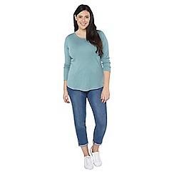 Evans - Green long sleeves t-shirt