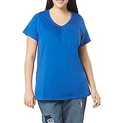 Evans - Blue short sleeve t-shirt