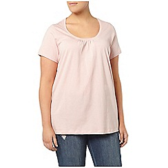 Evans - Pink short sleeve t shirt