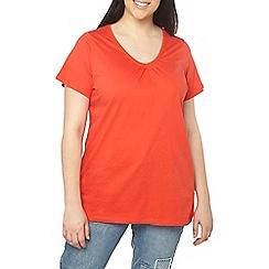 Evans - Red short sleeve t-shirt