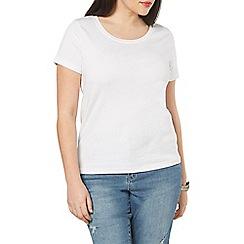 Evans - White basic t-shirt