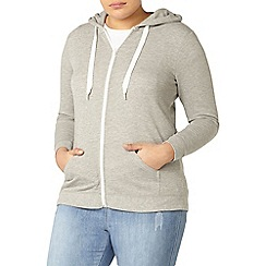 Evans - Light grey basic hoodie