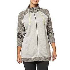 Evans - Grey contrast hoodie