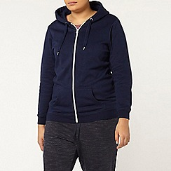 Evans - Navy basic hoodie