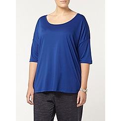 Evans - Blue relaxed fit top