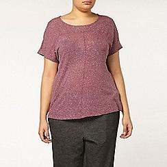 Evans - Purple marl t-shirt