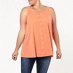 Evans - Orange neppy cami