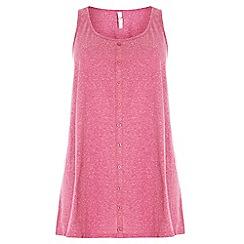 Evans - Pink neppy cami