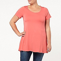 Evans - Coral swing tunic