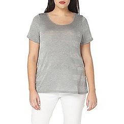 Evans - Premium glitter stripe t-shirt