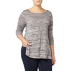 Evans - Navy side split tunic