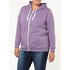 Evans - Purple basic hoody