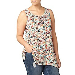 Evans - Multicoloured printed vest
