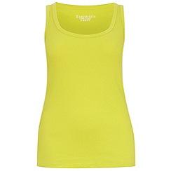 Evans - Yellow vest