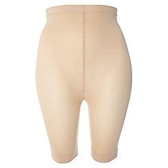 Evans - Nude comfort shorts