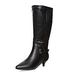 Evans - Black heeled boots