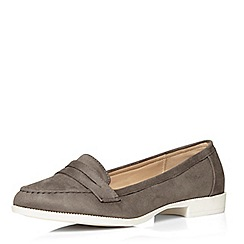 Evans - Grey sporty loafer