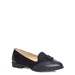 Evans - Navy blue loafer