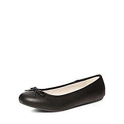 Evans - Black ballerina pumps