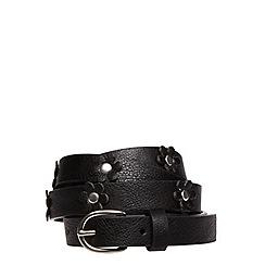 Evans - Black flower belt