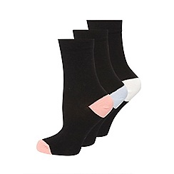 Evans - Black socks 3 pack