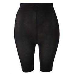Evans - Black comfort shorts