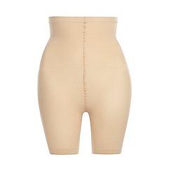 Evans - Nude high waist comfort short
