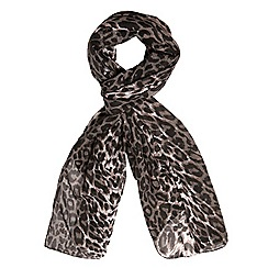 Evans - Leopard print scarf
